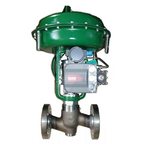 125P HP control valve with P-Actuator