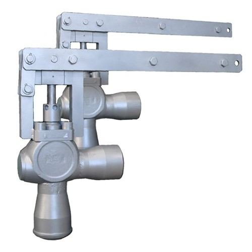 Angle Coontrol Valve with lever, for E-Actuator