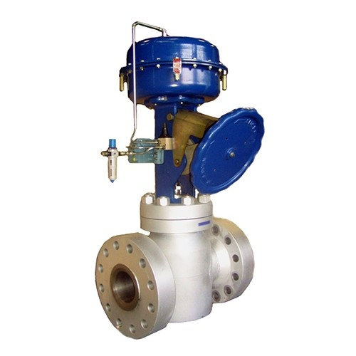 High Pressure control valve Type 126P, with P/Actuator